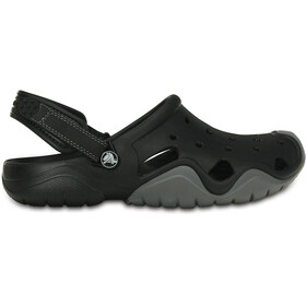 Crocs Swiftwater Clogs Heren, black/charcoal